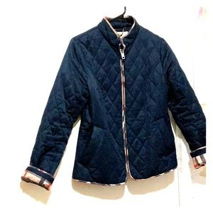 Burberry blue jacket size SMALL